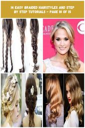 wavy wedding hairstyles 14 easy braided hairstyles and step by step tutorials - Page 10 of 15