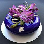 Spiegelglasurkuchen: Rezept für gebratenen Kuchen mit Überzug aus glänzender Glasur   – Cakes