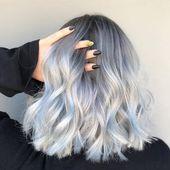So erhalten Sie graues Haar: Ein Leitfaden für den Trend zur silbernen Haarfarbe im Jahr 2018 | Glamour U …   – Hair