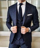 urbane Herrenmode, die richtig gut aussieht #urbanmensfashion – Wedding suits men
