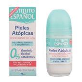 Instituto Espanol Pieles Atopicas Desodorante Roll On Piel Sensible 75ml En 2020 Desodorante Piel Sensible Higiene Femenina