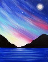 110 einfache Ideen für Acrylmalerei für Anfänger zum Ausprobieren