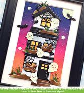 Franci's Spooky Glow-in-the Dark Halloween House