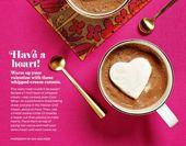 Ein Herz haben! Einfacher geht es nicht! Verteile eine 1-Zoll-Schicht …