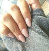einfacher Nagel, der zarte rosa alte Rose zeichnet – La Conception Des Ongles …   – Nageldesign Schlicht