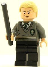 Lego Harry Potter Minifigure Draco Malfoy Lego Harry Potter Lego Potter