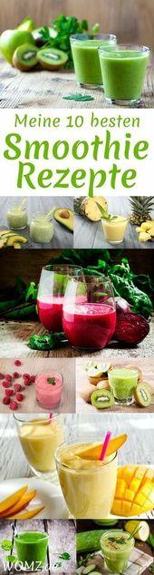 Apfel-Bananen-Smoothie-Rezept   – Cocktails & Drinks