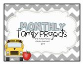 Monthly Family Projects (August – June) – Family Image