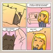 Der über Spiele (Catsu The Cat – Comics)