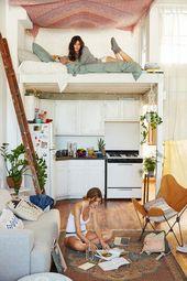 Kleine Wohnung einrichten – 30 Ideen für optimale Raumnutzung