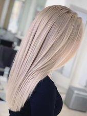 20 bezaubernde aschblonde langhaarige Frisuren im …