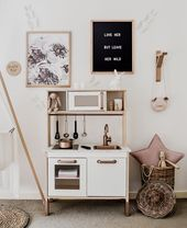 My rose gold Ikea hack kitchen – #Gold #Hack #IKEA…