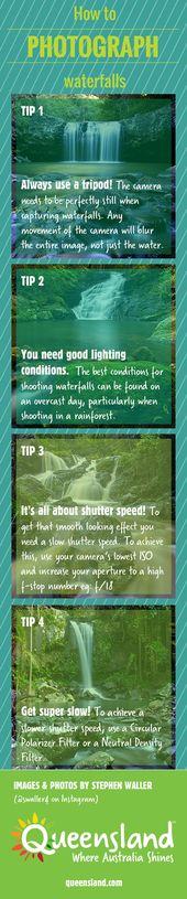 Fotografie-Tipps | So fotografieren Sie Wasserfälle INFOGRAFISCH Jetzt können Sie …   – Photography Tips