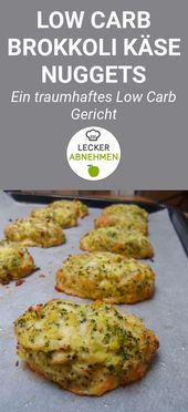 Leckere Brokkoli Käse Nuggets (Low Carb)