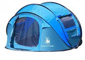 Automatic Open Pop Up Windproof Waterproof Camping Tent- 3-4persons  #sea #aweso…