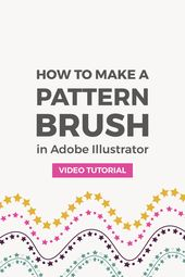 Illustrator Shortcuts  How to make a seamless geometric pattern brush in Illustrator