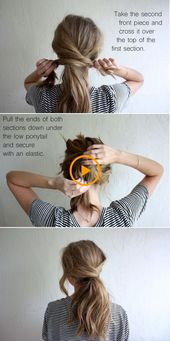 62 peinados fáciles paso a paso bricolaje
