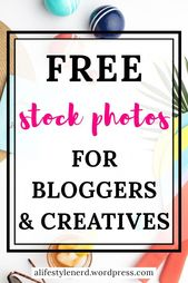 Flatlay stock photos and mockups for bloggers. How to create brand photos using free stock photos. Styled Photography For Bloggers. Stock photos to de…