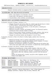 Functional Resume For Administrative Assistant Allen Benson Lostpoet60 On Pinterest