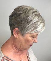Os melhores penteados e cortes de cabelo para mulheres acima de 70   – older women hairstyles