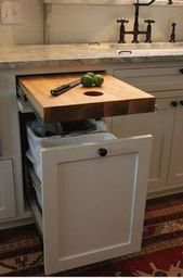 53 Small Kitchen Design Ideas That Remodel Layout – #desert #design #ideas #kitchen #layout