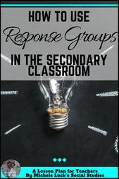 How To Use Response Teams for Dialogue within the Secondary Classroom