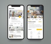 Aplicaciones móviles | Serie INDUSTRIA en Behance   – UI kit