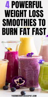 4 kraftvolle Gewichtsverlust-Smoothies mit Chia-Samen für schnellen Gewichtsverlust, den Sie …   – smoothies