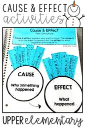 Cause and Effect Activities & Teaching Ideas
