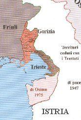 Dalmazia Italiana Cartina.Cartina Foibe Storia Mappe Geografia
