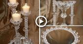 DIY Crystal Candle Centerpiece | My Christmas My Style 2018