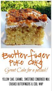 Butterfinger Cake | Plain Chicken®
