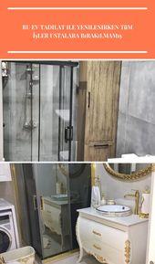 Badezimmer, Badezimmerschrank, Badezimmerschrank aus Holz, Badkeramik, Duschkabine, … – strength-tattoo