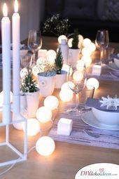 Photo of Sie werden Ihre Gäste mit diesen DIY Tischdekorationsideen für Weihnachten verzaubern!