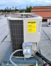 A Recent Installation Job In Anaheim Payne Condenser On The Roof Furnace Repair Hvac Services Repair