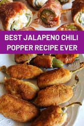 Best jalapeno chili popper recipe ever