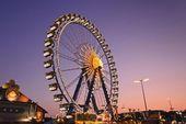 Photographic Print: Germany, Bavaria, Munich, Oktoberfest, Oktoberfest, Ferris W…