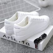 Pu leather Platform Lace up Casual Fashion Breath Vulcanized Shoes – eFashionova