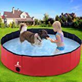 Gostock Dog Pool Foldable Dog Pet Kids Bath Pool Swimming Pool Paddling Pool Portable Pvc Non Slip Large Pet Dog Cat Bat In 2020 Dog Pool Animals For Kids Pet Supplies