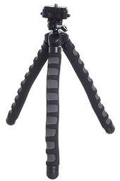 KitVision Small Monkee Grip Flexible Foam Tripod for Camera Black