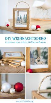 Photo of Altes in Neues verwandeln: Mit alten Bilderrahmen können Sie ganz einfach ein Weihnachtsfest gestalten …