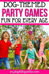 Dog Themed Party Games