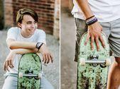 Skateboard Senior Photography | … photographer Maddie's senior pictures – …