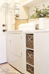 10 tolle Ideen für kleine Waschküchen