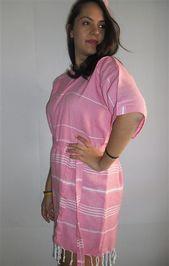 SALE ! Pink Bridesmaid robes Kaftan Turkish bathrobe wedding gifts bridal robe wedding show…