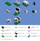 Baue die LEGO Big E Cow   – Lego