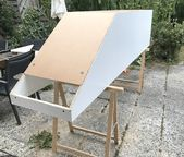 DIY: Cabinets for roof slopes self-built!  – Gold