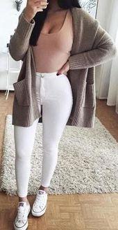 🌹Cute Fall Preppy Back to School Outfits Ideen für Teenager für das College 2018 Cas