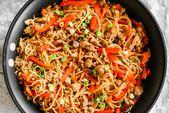 Gochujang Noodles aka The Best Spicy Ramen Noodles