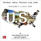 Us A Narrative History Volume 2 Since 1865 7th Edition Ebook P History Textbook History Narrator